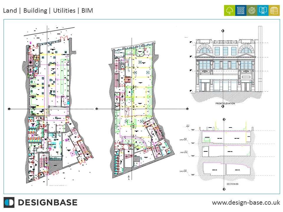 Measured Building Survey, Glam Night Club, Cardiff