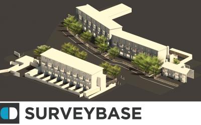 3D Topographical Survey Model, Apartment Complex, Oxford