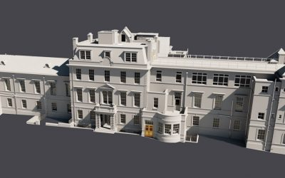 3D Measured Building Survey, Royal Buckinghamshire Hospital, Aylesbury