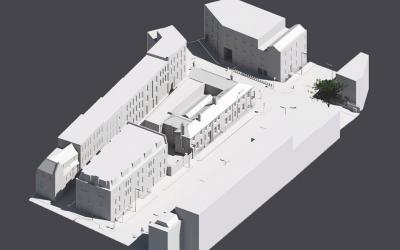 3D Topographical Survey, Community Centre, Camden, London