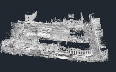 Digital Measured Building Survey, Shopping Mall, Birmingham