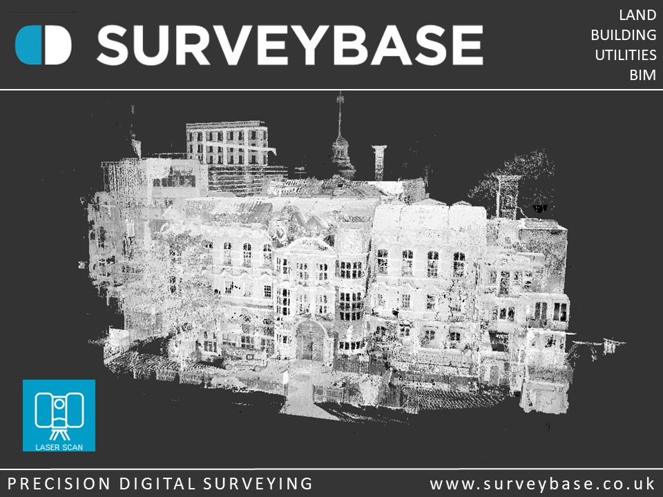 3D Laser Scan Survey, College Of Arts, Camberwell, London