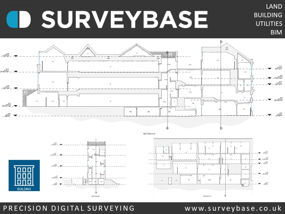 Precision Digital Measured Building Survey, College Of Arts, London