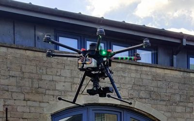 Why UAV Drones Are Perfect For Roof Surveying.