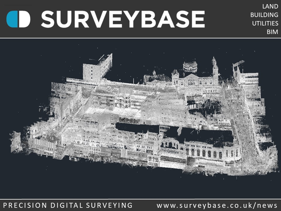 3D Laser Scan Survey, Birmingham, UK
