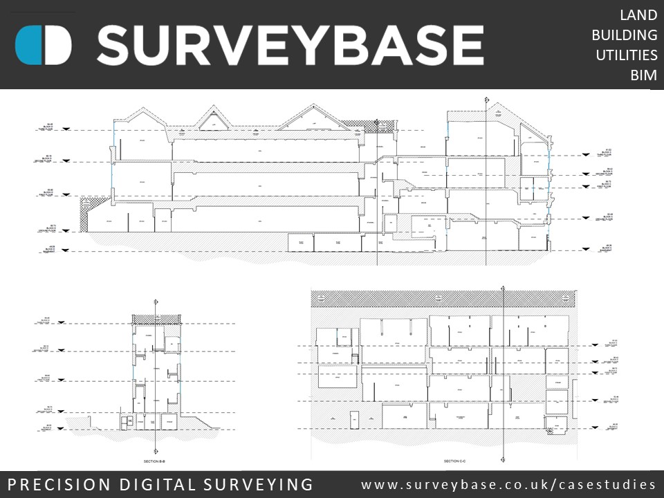 Measured Building Survey, College Of Arts, Camberwell, London