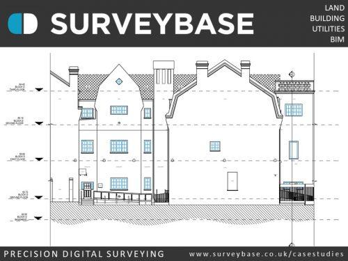 Elevation Survey, College Of Arts, Camberwell, London