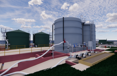3D Laser Scan To BIM, Water Treatment Plant