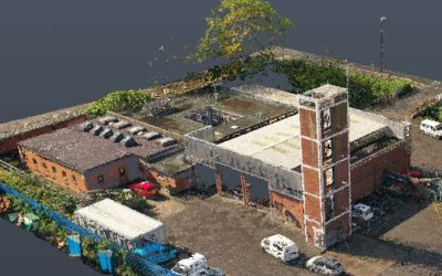 UAV Drone Survey, Fire & Rescue Station, Bristol