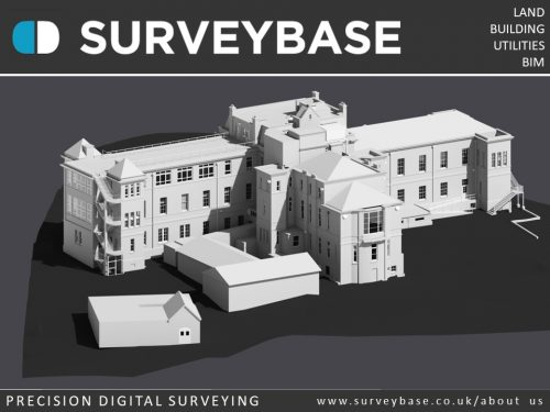 3D Laser Scan Survey To Revit As Built Model, Aylesbury, Buckinghamshire