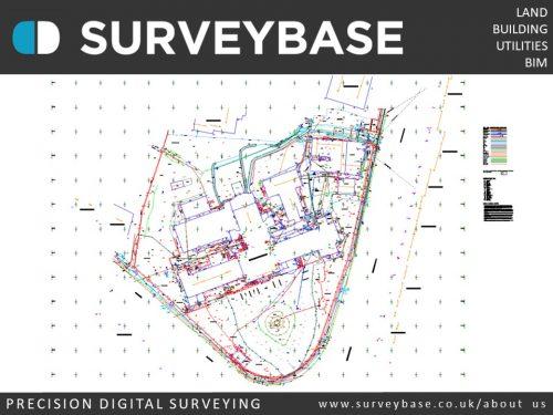 Topographical & Utilities Survey, Aylesbury, Buckinghamshire
