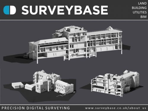 3D Laser Scan Survey To As Built Revit Model, Aylesbury