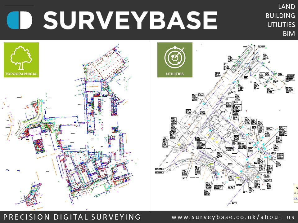 Digital Topographical Survey & Utilities Survey, Musgrove Park Hospital, Taunton, Somerset