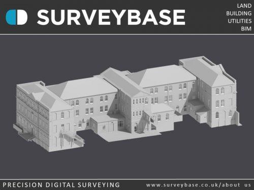 3D Laser Scan Survey To As Built Revit Model, London