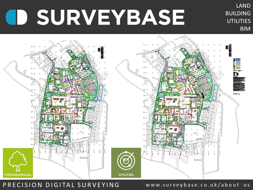 Precision Digital Topographical Survey, The Royal United Hospital, Bath