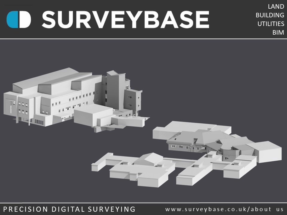 3D Laser Scan Survey To As Built Revit Model, The Royal United Hospital, Bath