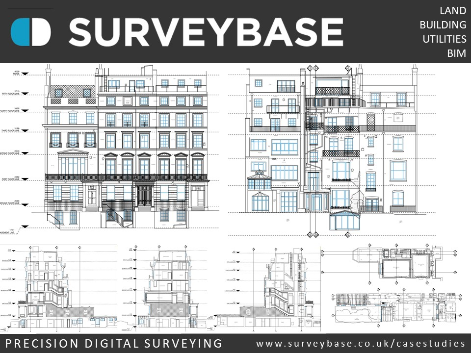 Measured Building Survey, Kensington, London