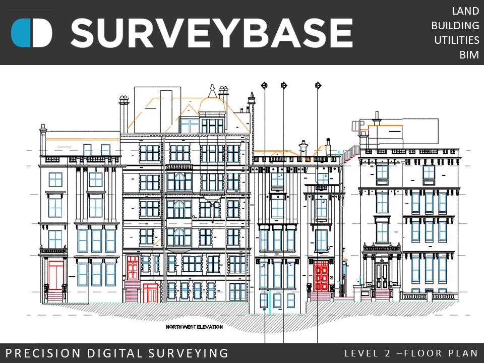 Measured Building Survey, Knightsbridge, London