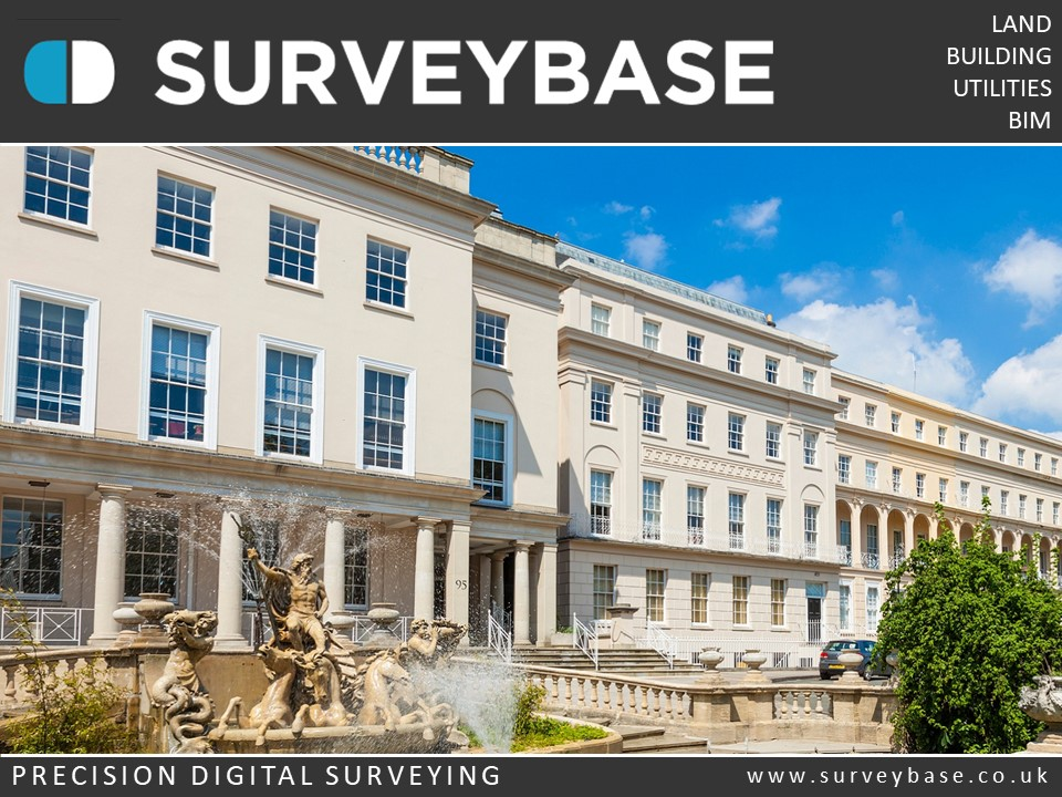 Surveybase Limited offer a Measured Building Survey service for private houses and commercial property in Cheltenham & The Cotswolds.
