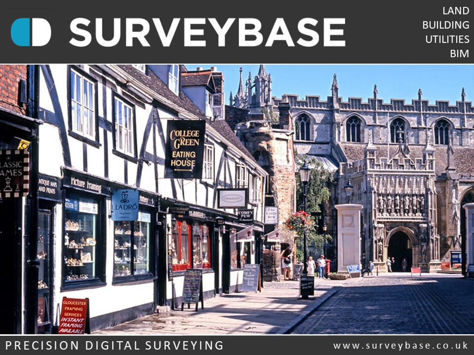 Surveybase Limited offer a Measured Building Survey service for private houses and commercial property in Gloucester and the Cotswolds.