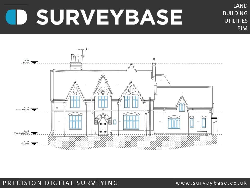 Surveybase provide precision Measured Building Surveys in Bristol, Bath, Cheltenham, Swindon, Reading, Oxford, London, Croydon & Guildford.
